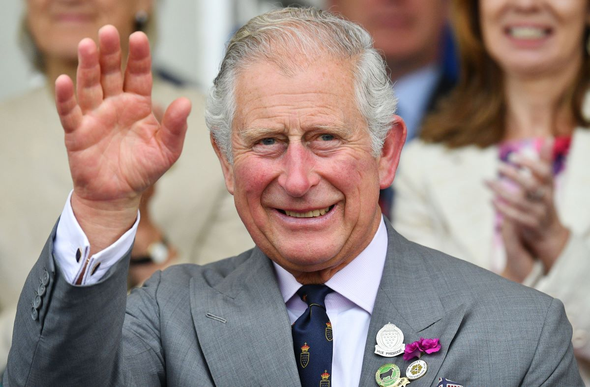 Prince Charles, Prince of Wales waves as he attends the Royal Cornwall Show on June 07, 2018 in Wadebridge, United Kingdom