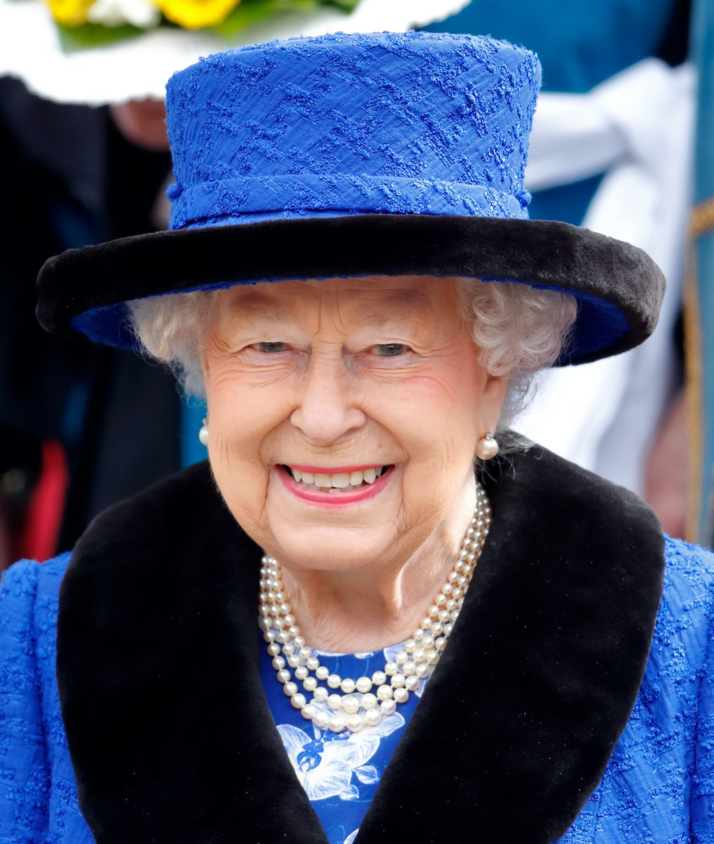 Queen Elizabeth II attends the 2018 Royal Maundy Service