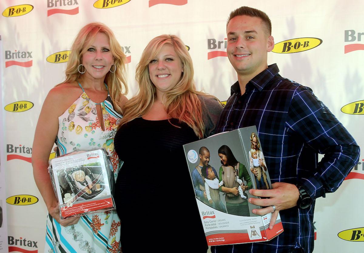 Vicki Gunvalson, Briana Culberson, and Ryan Culberson