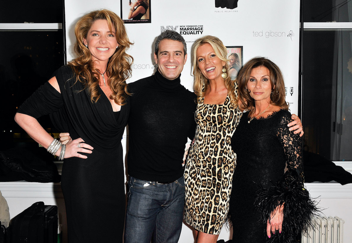 Andy Cohen, Mary Amos, Cat Ommanney, and Lynda Erkiletian