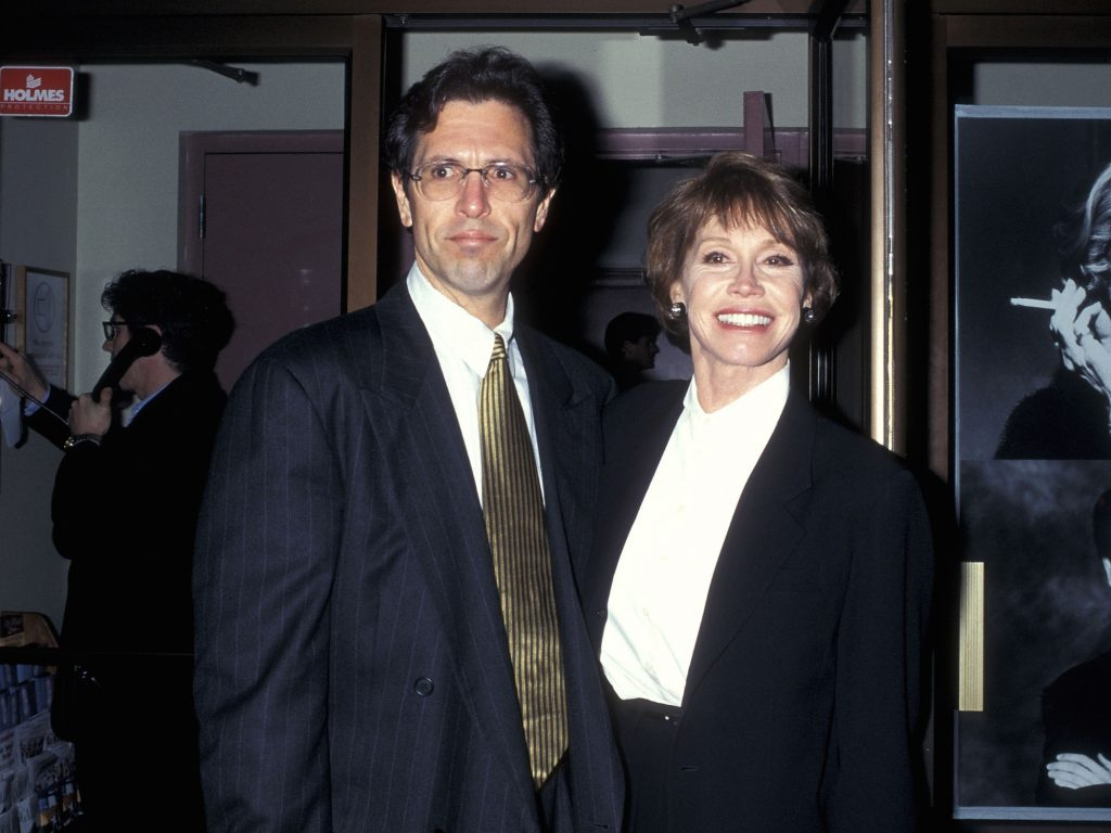 Mary Tyler Moore and husband Dr. Robert Levine