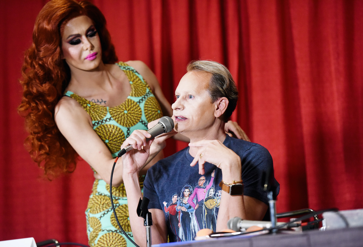 "Trinity ""The Tuck"" Taylor and Carson Kressley attend RuPaul's DragCon LA 2019"