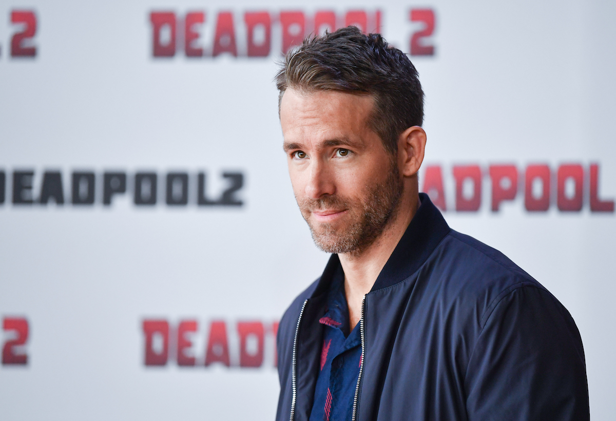 Ryan Reynolds at a 'Deadpool 2' event