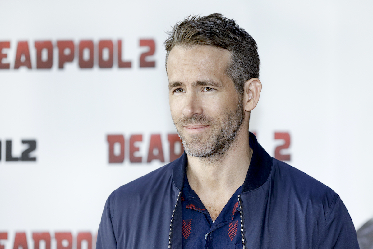 Ryan Reynolds at a 'Deadpool 2' press conference
