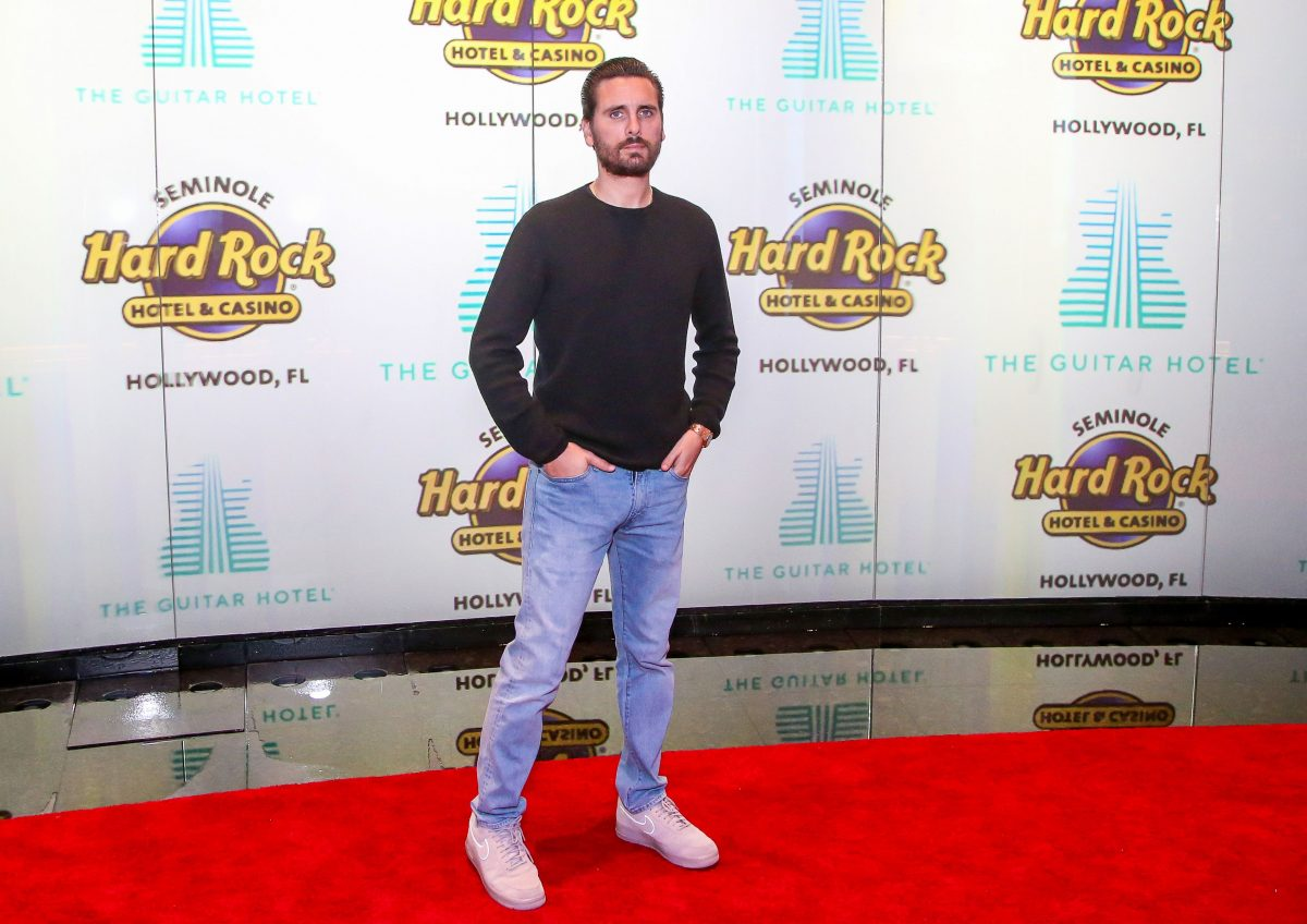 Scott Disick attends the Grand Opening of the Guitar Hotel expansion at Seminole Hard Rock Hotel