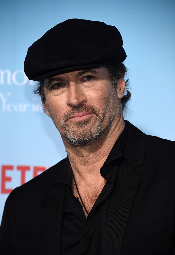 Scott Patterson at the Gilmore Girls: A Year in the Life premiere