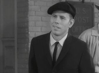 """Rance Howard as the governor's chauffeur in """"Barney and the Governor"""""""