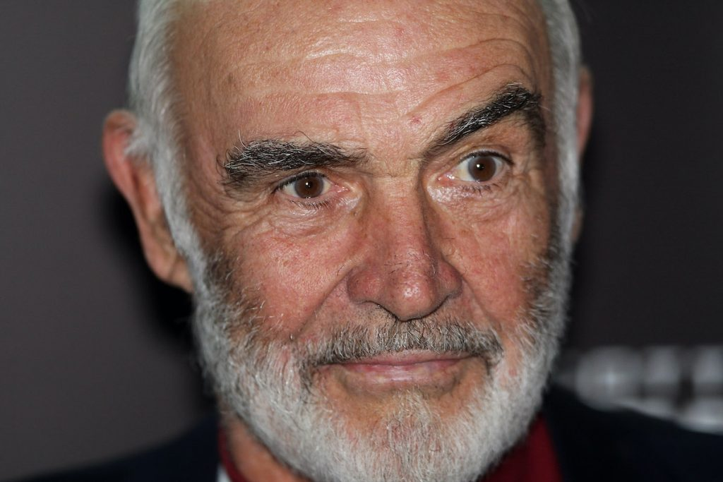 Sean Connery at an event