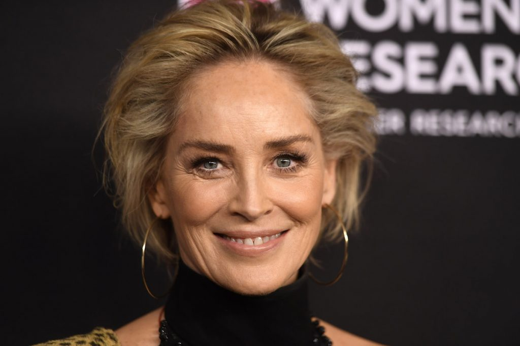 Sharon Stone attends The Women's Cancer Research Fund's An Unforgettable Evening Benefit Gala at the Beverly Wilshire Four Seasons Hotel on February 28, 2019 in Beverly Hills, California.