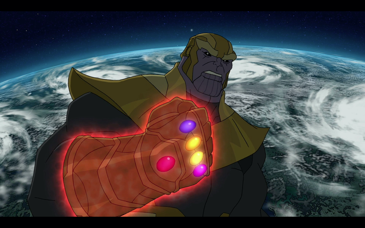 Thanos on animated series 'Marvel's Avengers Assemble'