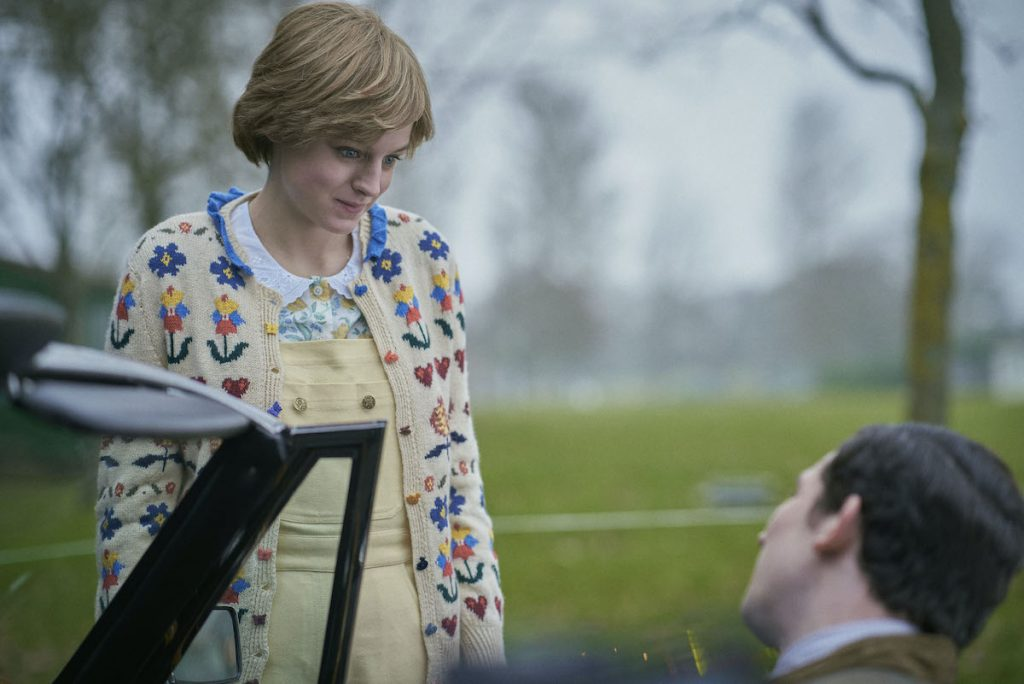 Emma Corrin as Princess Diana and Josh O'Connor as Prince Charles in Season 4 of Netflix's 'The Crown' | Des Willie/Netflix