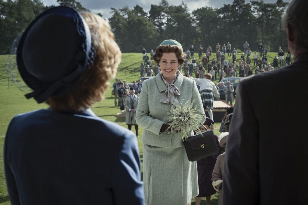 Olivia Colman as Queen Elizabeth II in 'The Crown'
