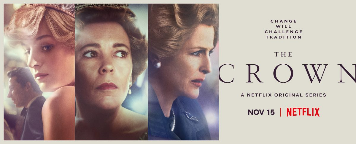 Promotional poster for 'The Crown'