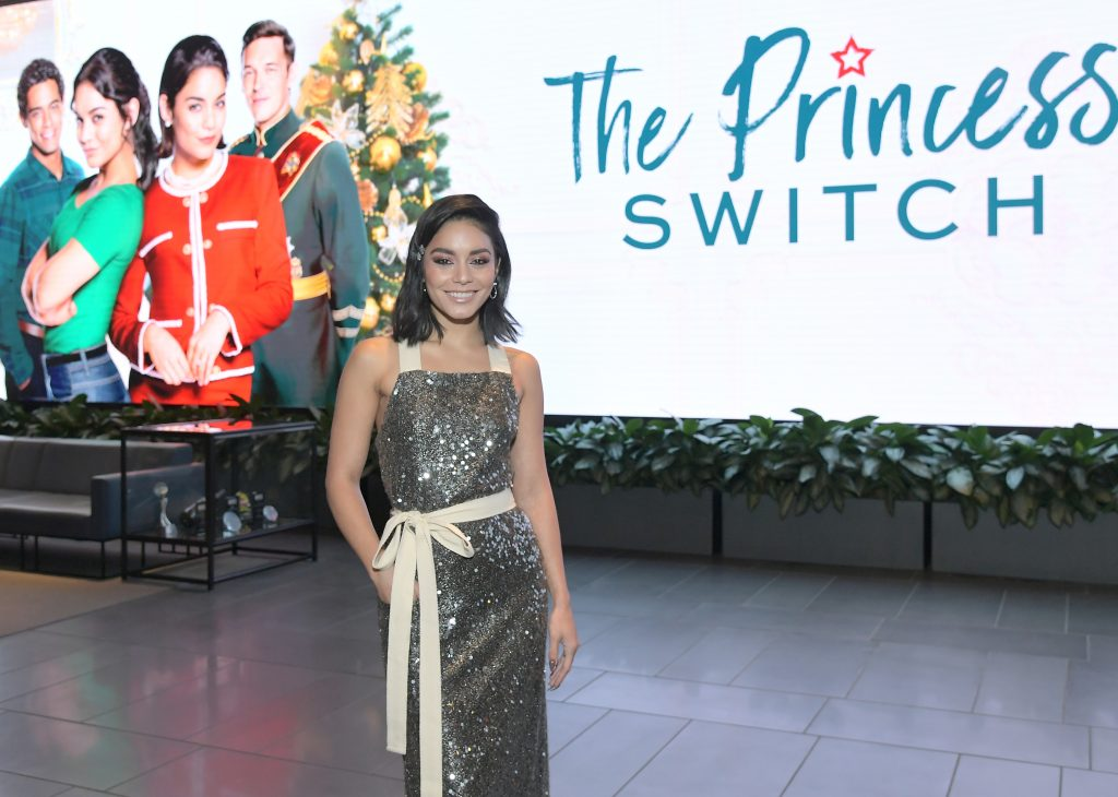 Vanessa Hudgens attends the 'The Princess Switch' Special Screening