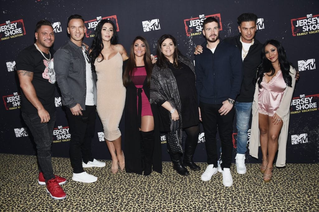 The cast and crew of 'Jersey Shore'