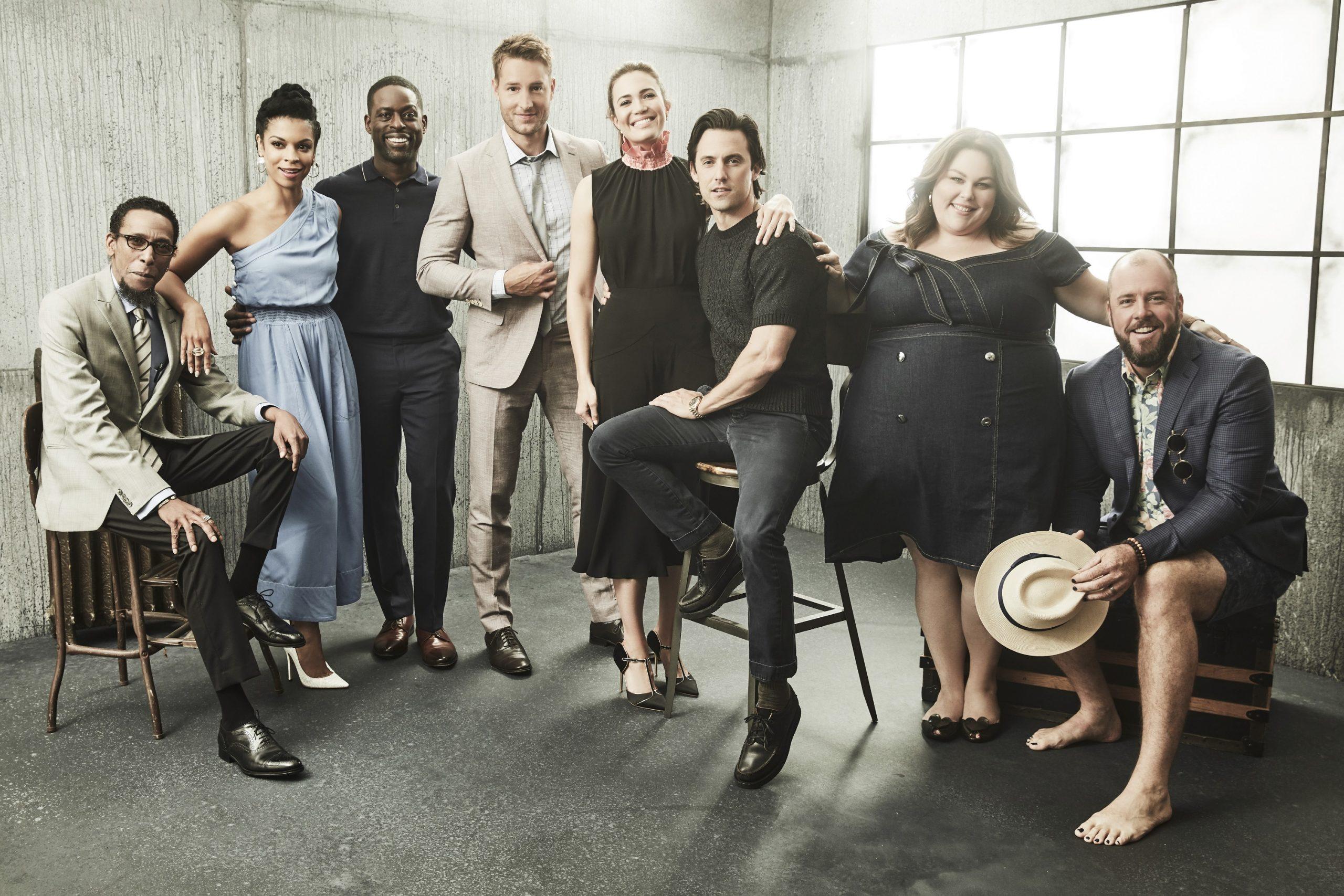 'This Is Us' Cast: Ron Cephas Jones, Susan Kelechi Watson, Sterling K. Brown, Chrissy Metz, Mandy Moore, Milo Ventimiglia, Justin Hartley, and Chris Sullivan