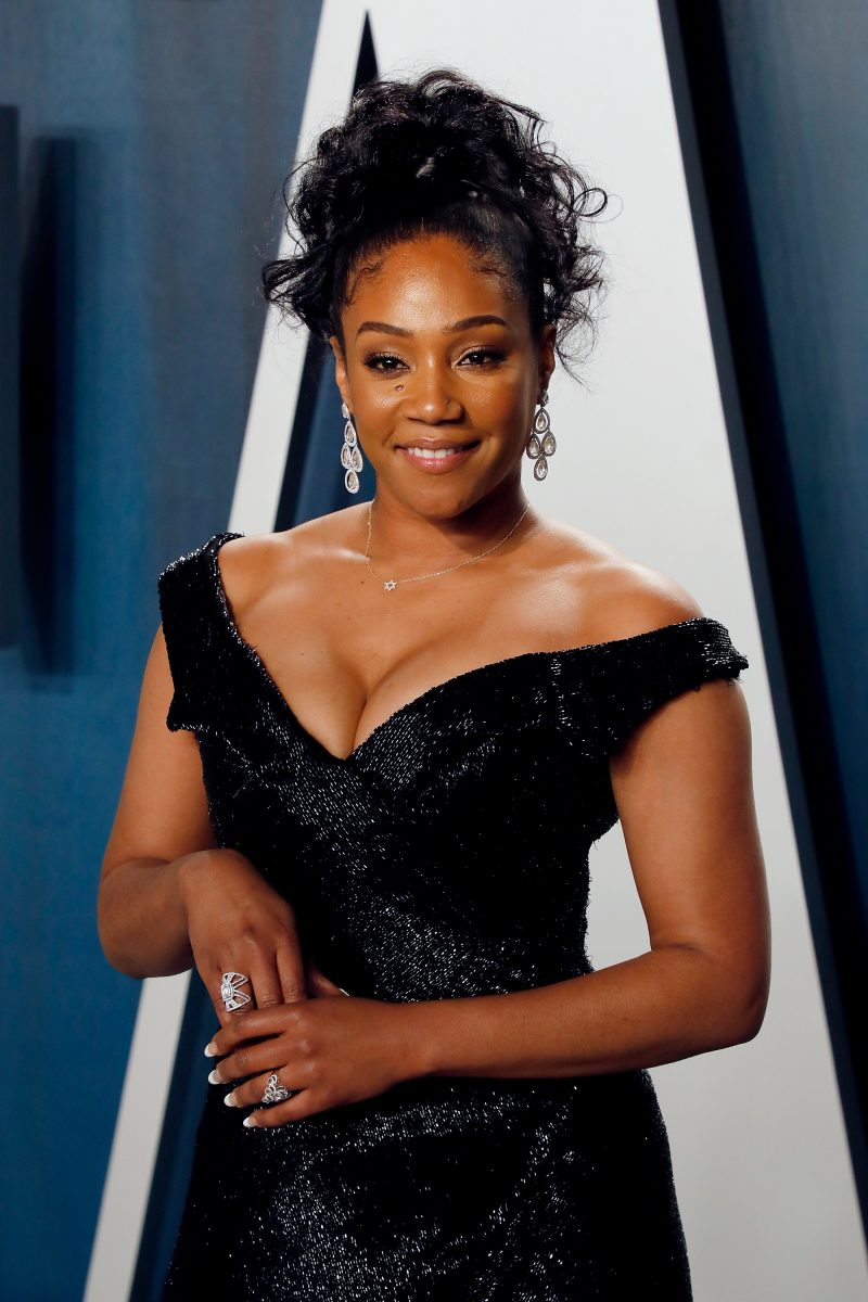 Tiffany Haddish attends the Vanity Fair Oscar Party at Wallis Annenberg Center for the Performing Arts