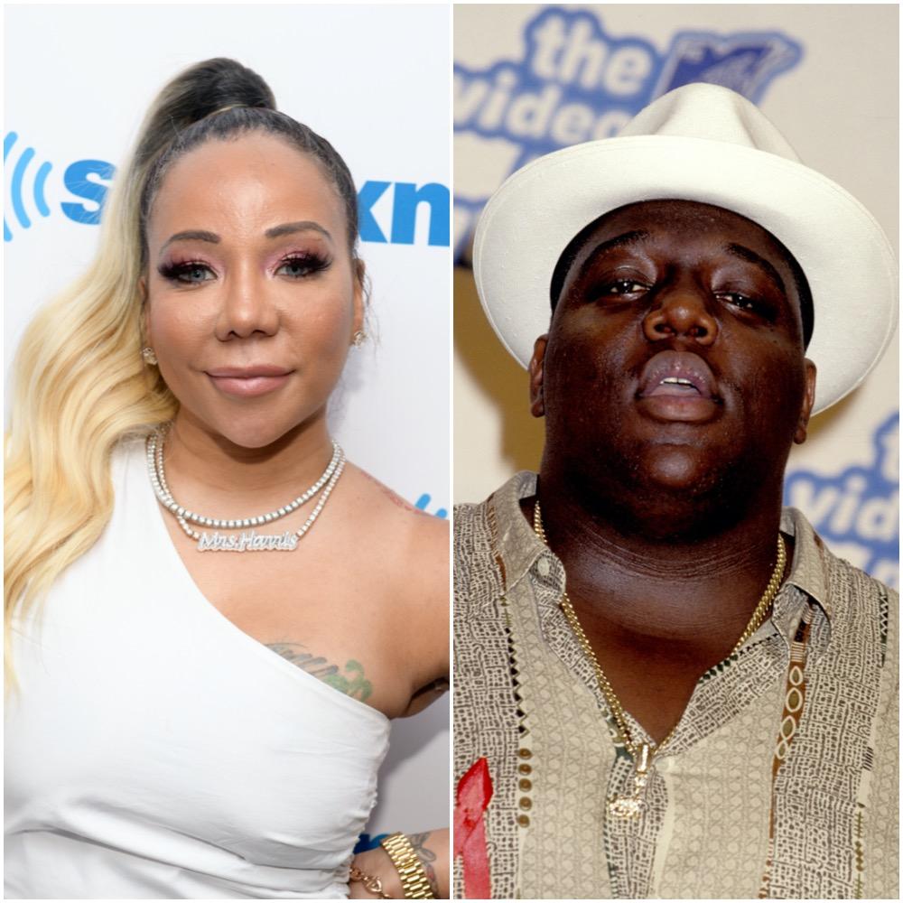 Tameka 'Tiny' Harris and The Notorious B.I.G.