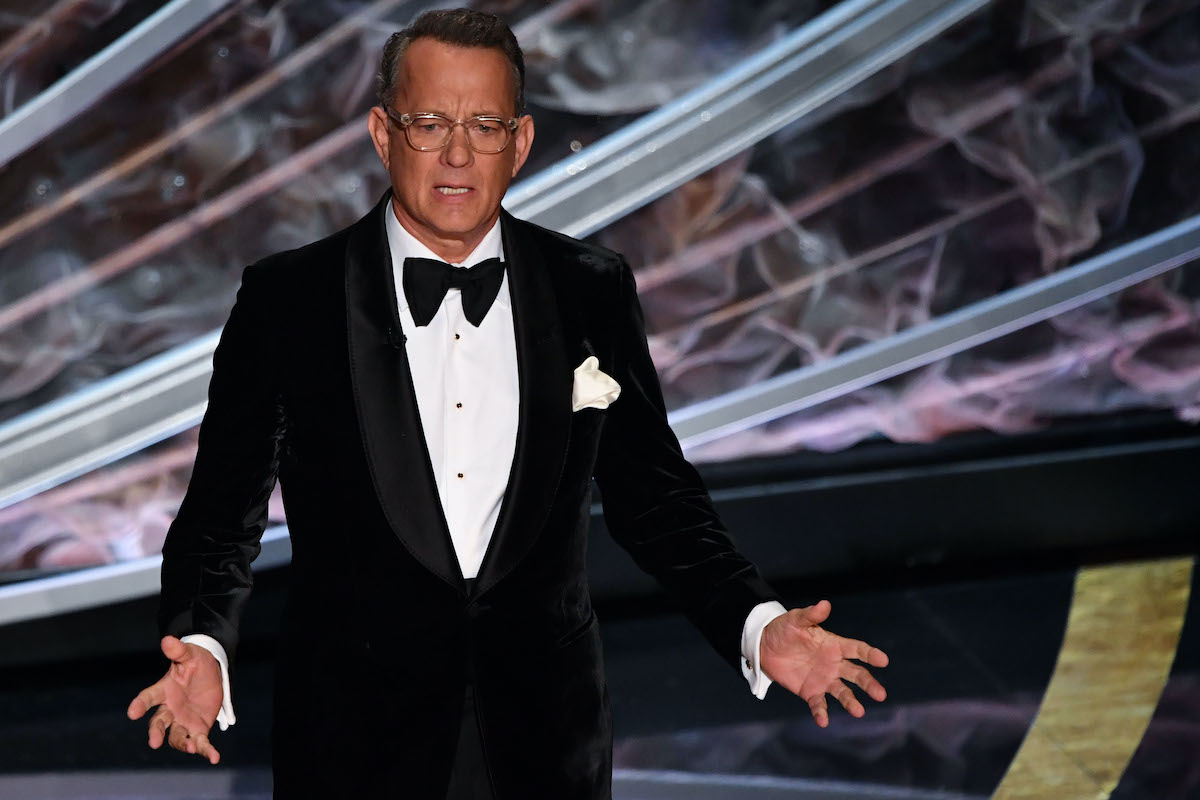 Tom Hanks at the 92nd Oscars