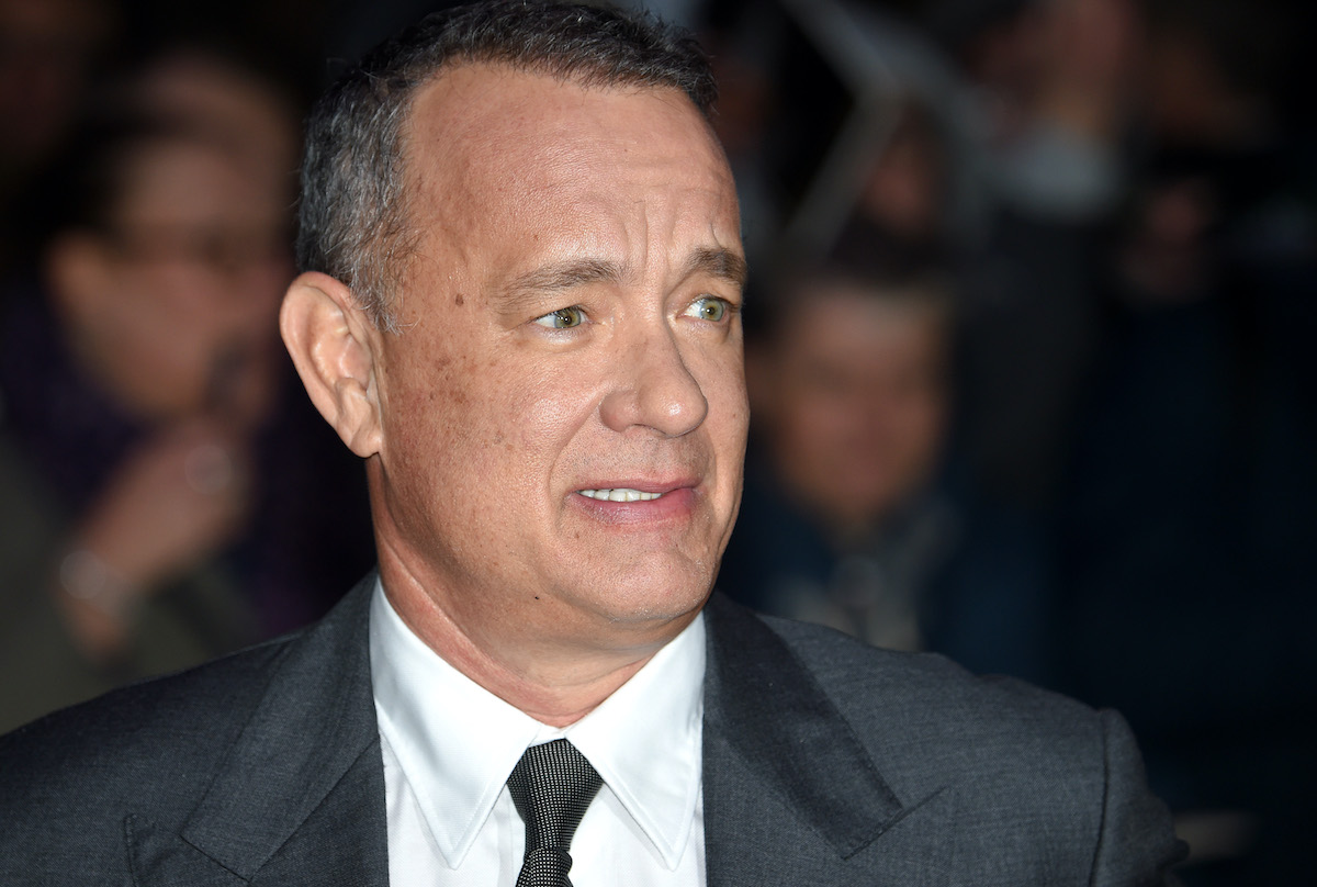Tom Hanks at a screening of 'Sully'