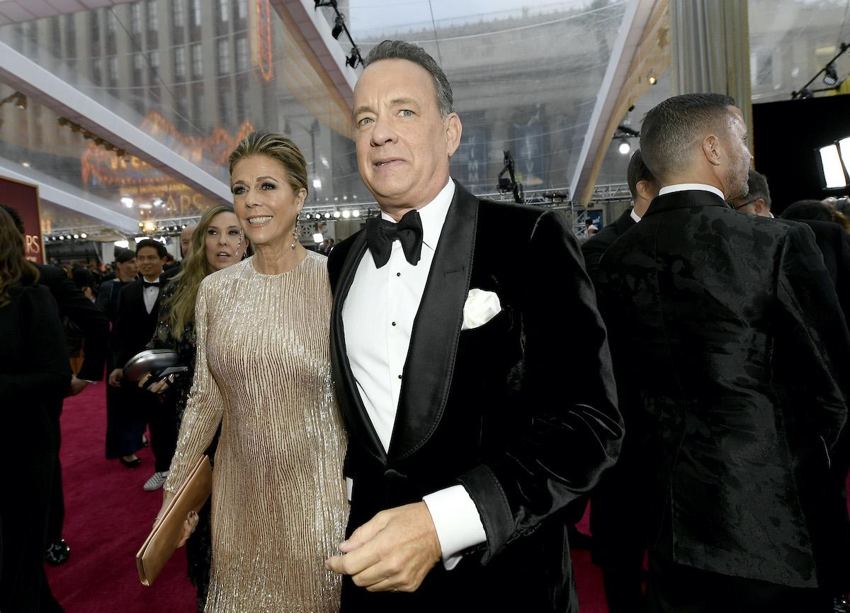 Rita Wilson and Tom Hanks at the Academy Awards