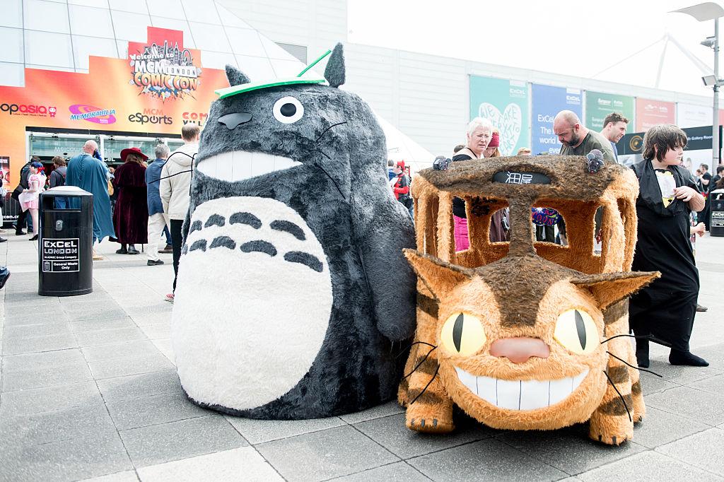 Totoro and Catbus from Studio Ghibli
