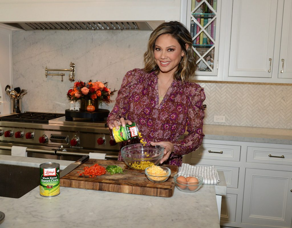 Vanessa Lachey teams up with Libby's Vegetables to celebrate the season by making appetizers and comforting sides for the holiday season