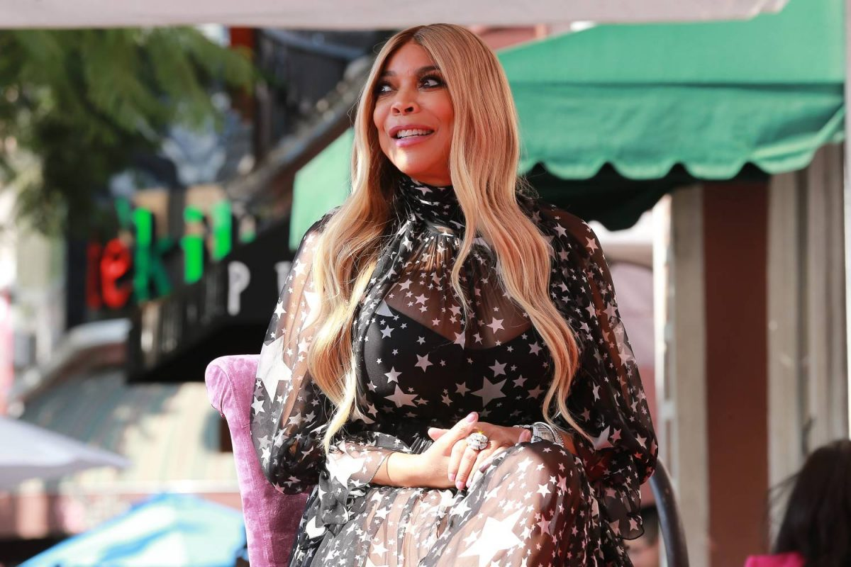 Wendy Williams is honored with a Star on the Hollywood Walk Of Fame on October 17, 2019 in Hollywood, California.