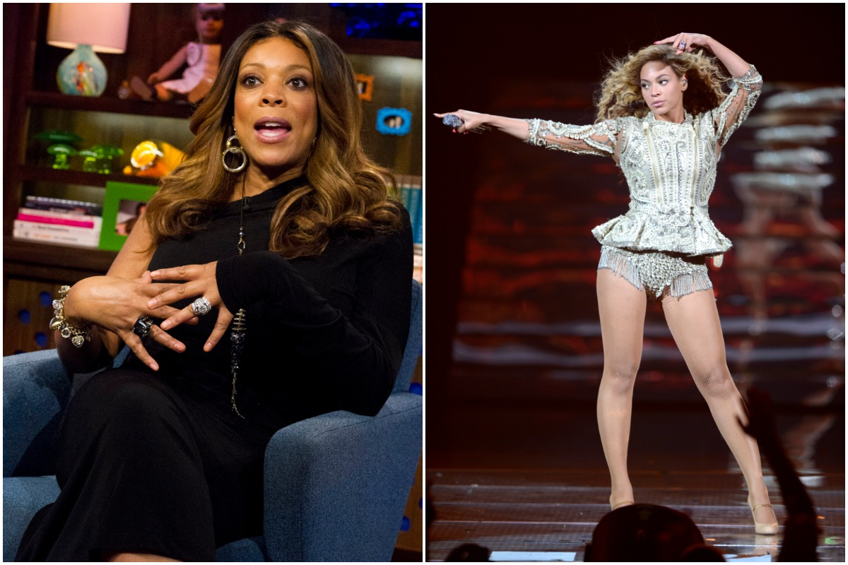 WATCH WHAT HAPPENS LIVE -- Pictured: Wendy Williams/(Exclusive Coverage) Beyonce performs on stage at Ovation Hall at Revel on May 25, 2012 in Atlantic City, New Jersey.