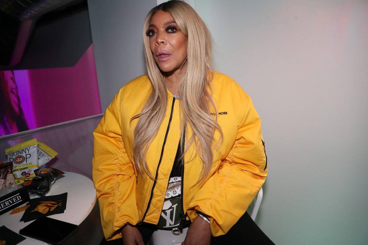 """Wendy Williams attends the """"New Cash Order"""" Documentary Screening at Lighthouse International Theater on February 20, 2020 in New York City."""