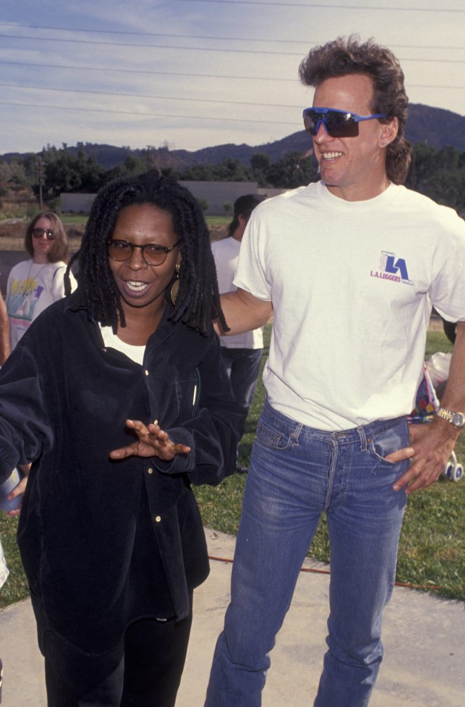 'The View' star Whoopi Goldberg and Lyle Trachtenberg
