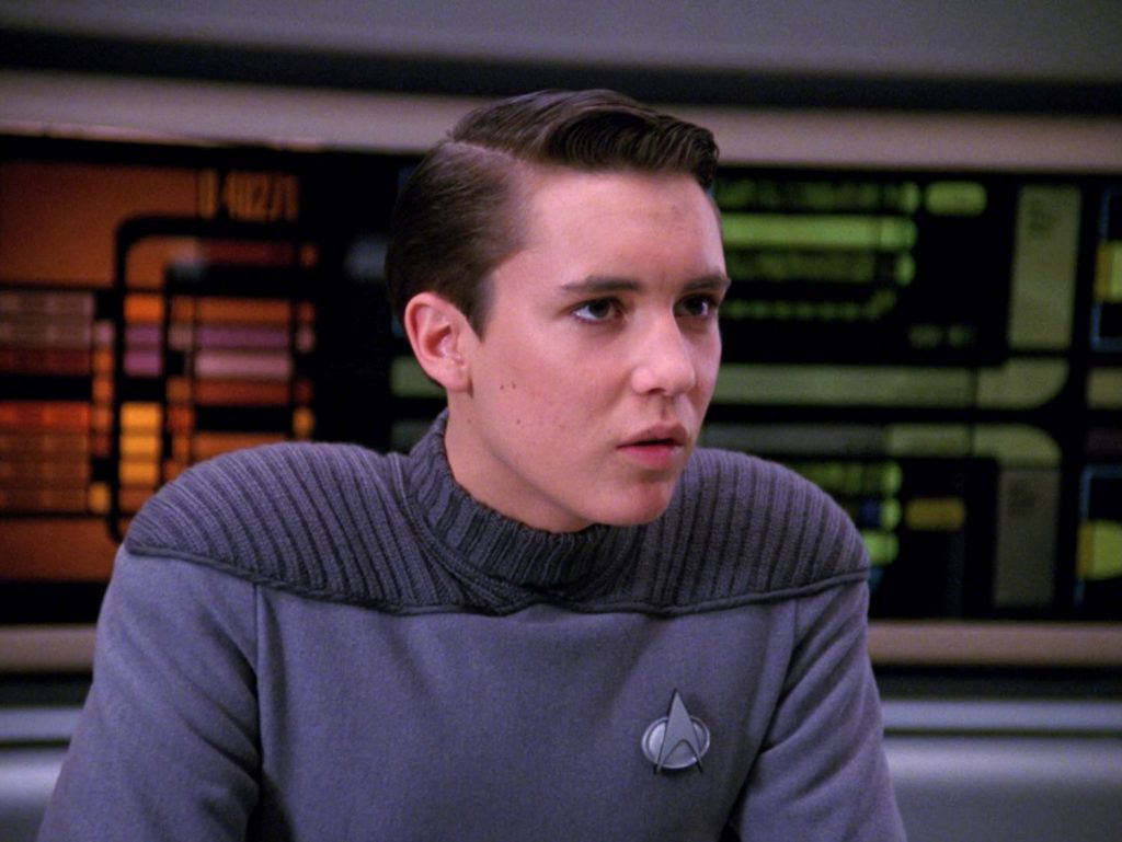 Wil Wheaton in 'Star Trek'