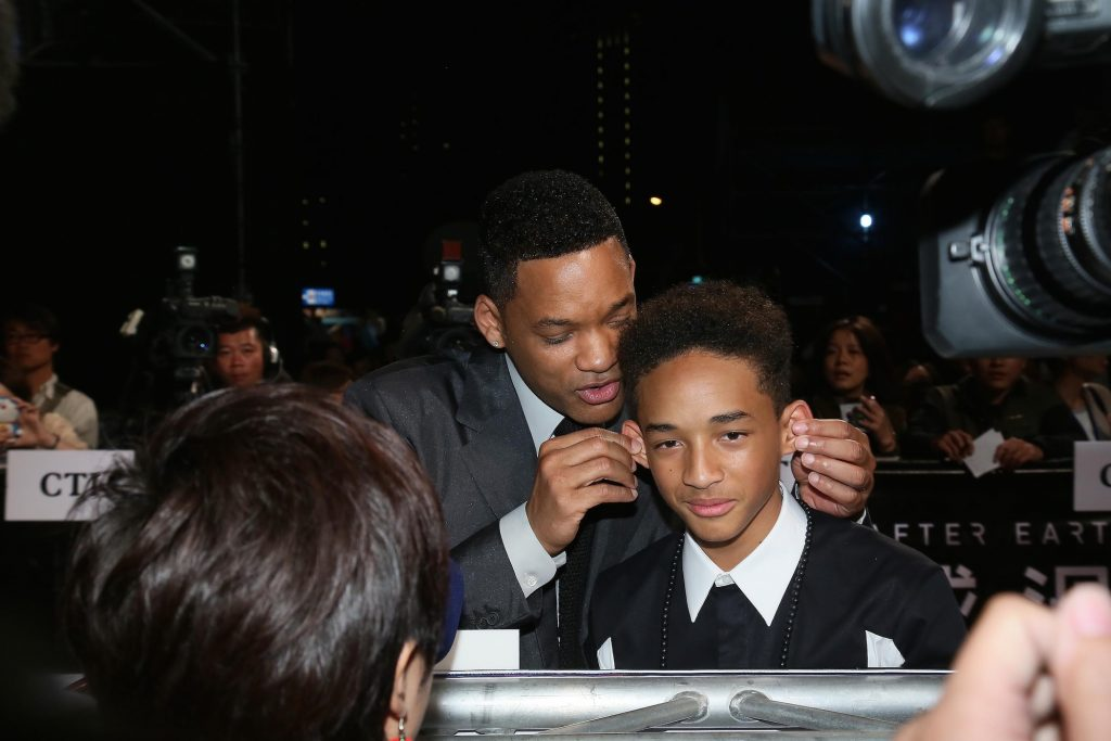 Will Smith and Jaden Smith attend 'After Earth' Taipei press conference