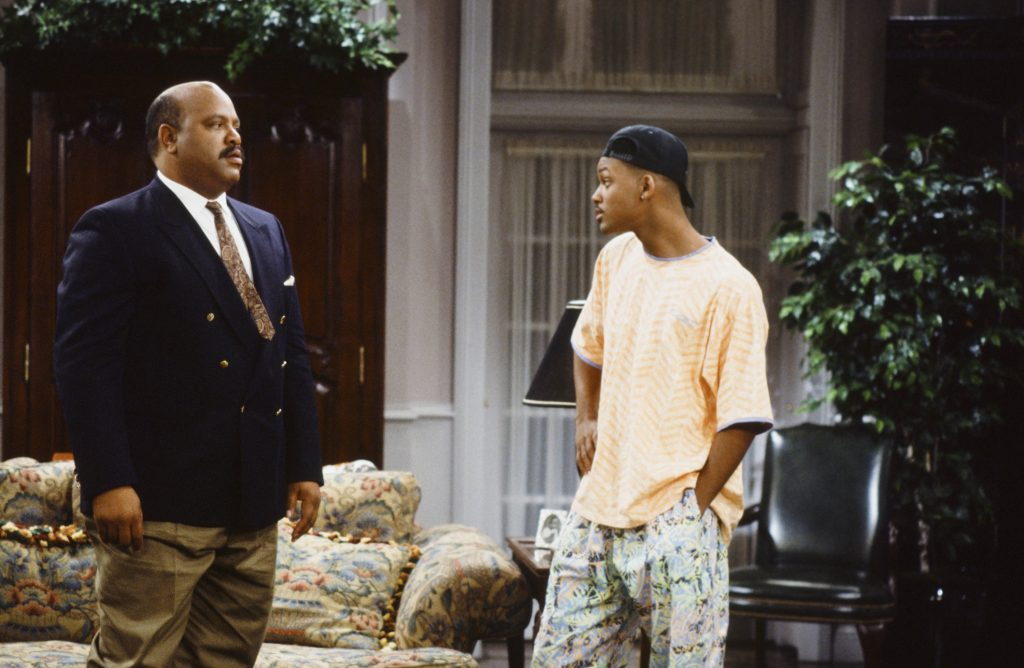 Will Smith and James Avery