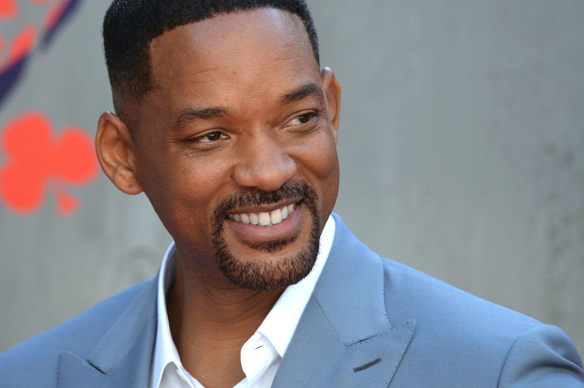 Will Smith at the European premiere of 'Suicide Squad'