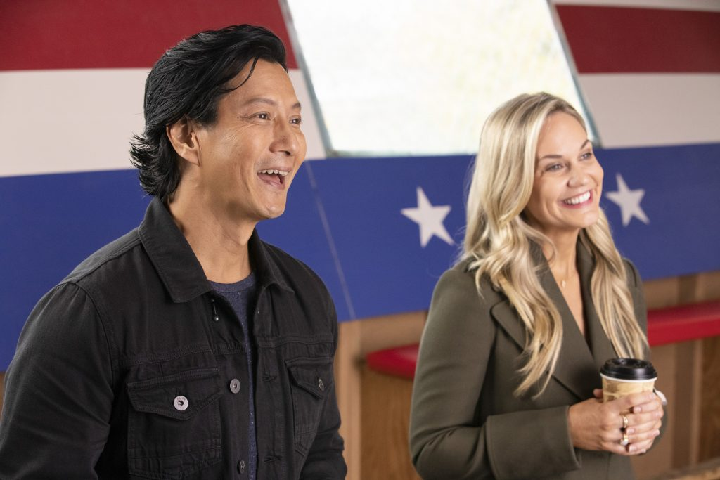 Will Yun Lee and Jennifer Birmingham Lee on The Good Doctor   Jack Rowand via Getty Images