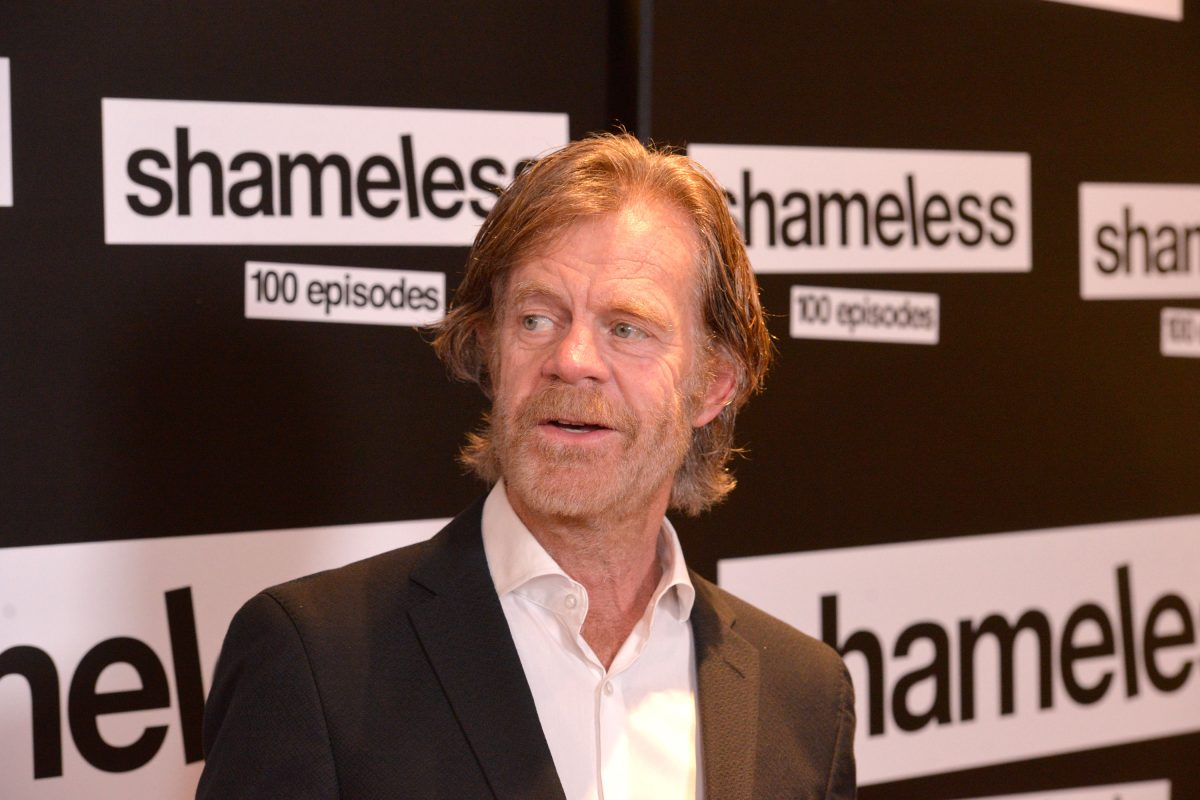 """Actor William H. Macy attends the celebration of the 100th episode of Showtime's """"Shameless"""""""