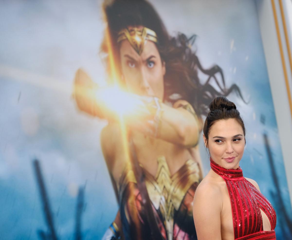 Gal Gadot at the world premiere of 'Wonder Woman'
