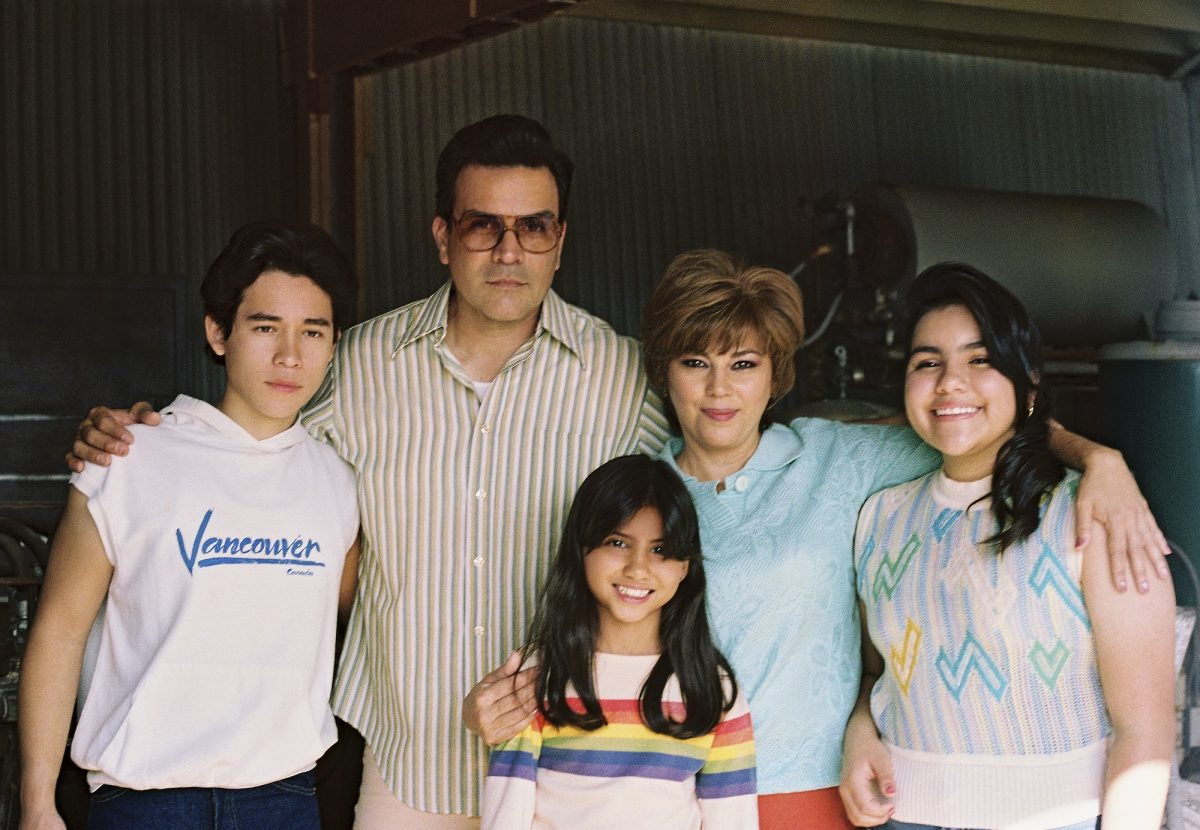 Young Selena and Family