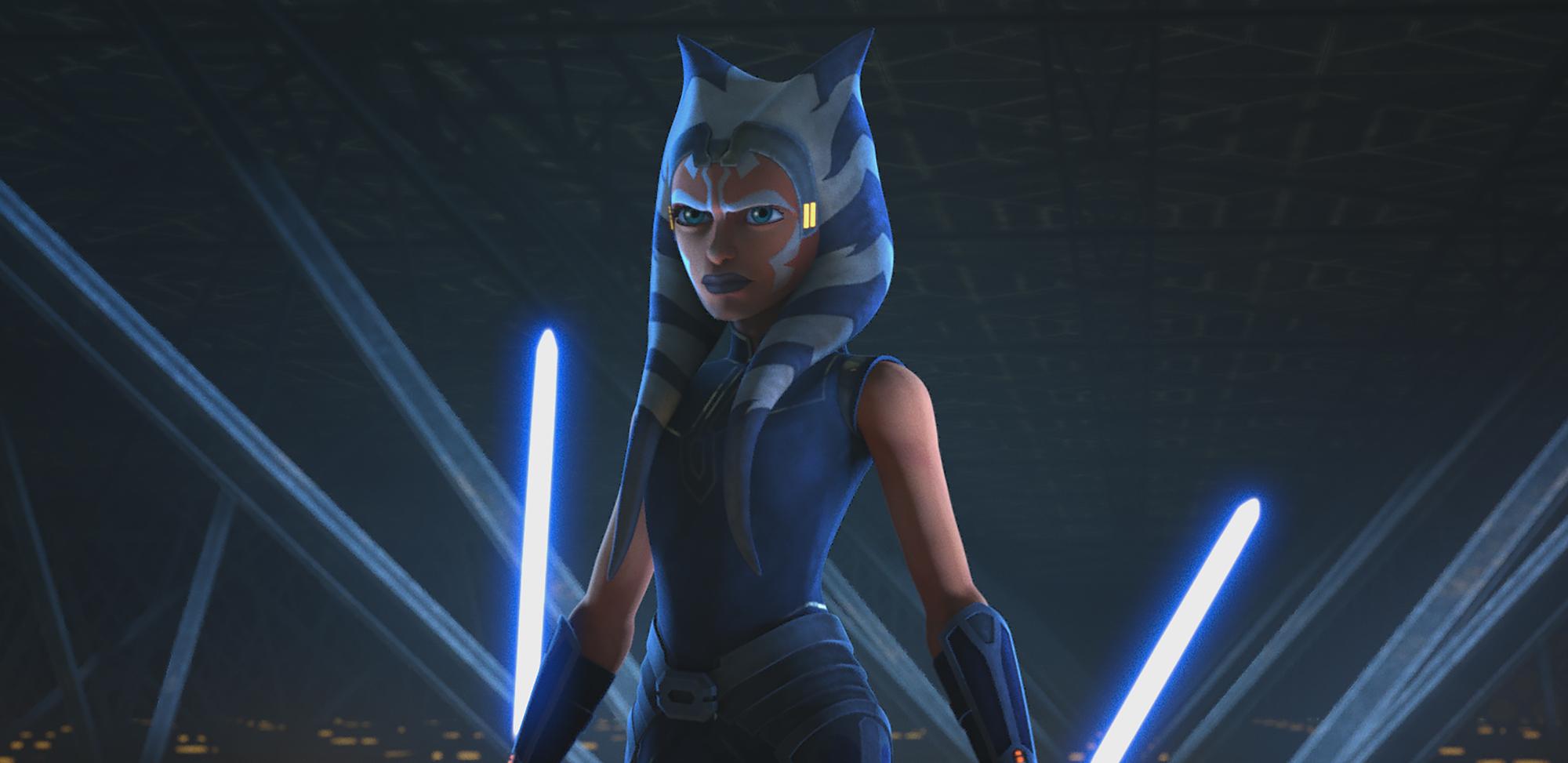 Ahsoka Tano in Season 7 in 'Star Wars: The Clone Wars'