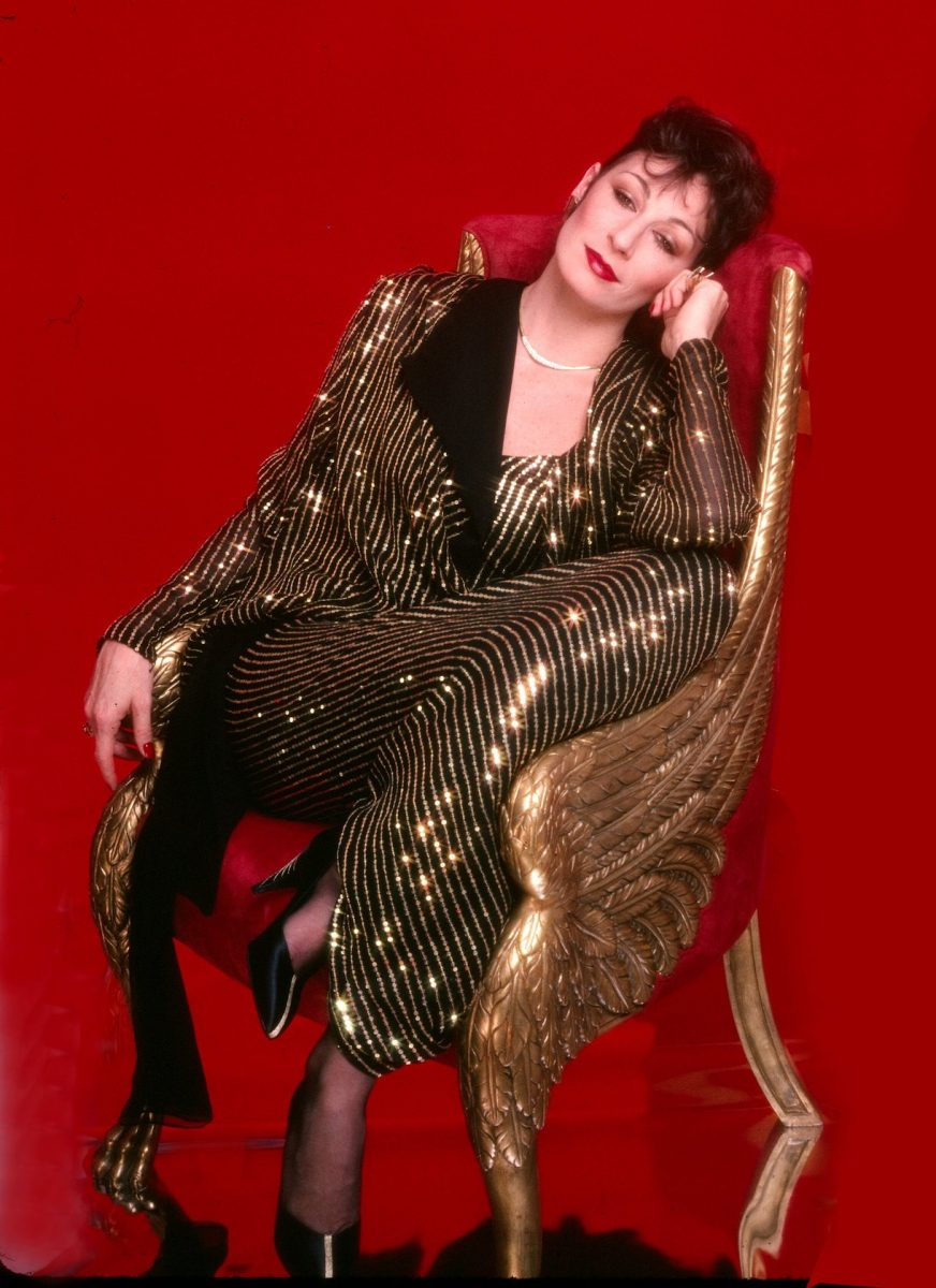 Actress Anjelica Huston poses for a portrait circa 1985 in Los Angeles, California