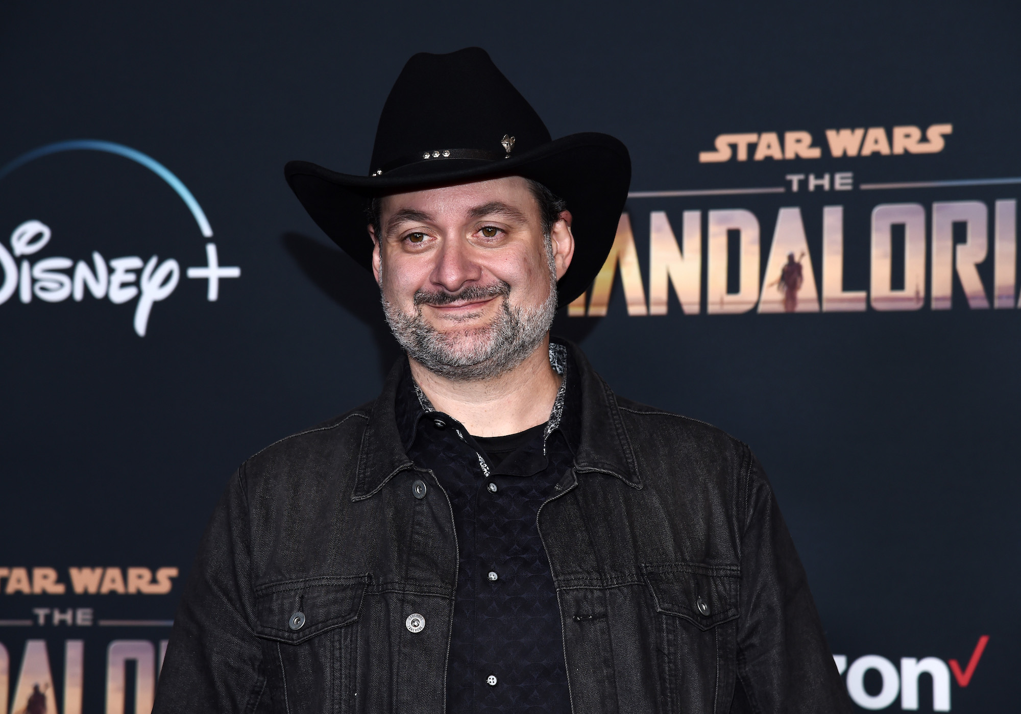 Dave Filoni at the premiere of Disney+'s 'The Mandalorian' Season 1 at the El Capitan Theatre on Nov. 13, 2019.