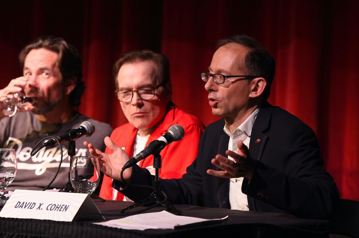 David Herman, Billy West and David X. Cohen