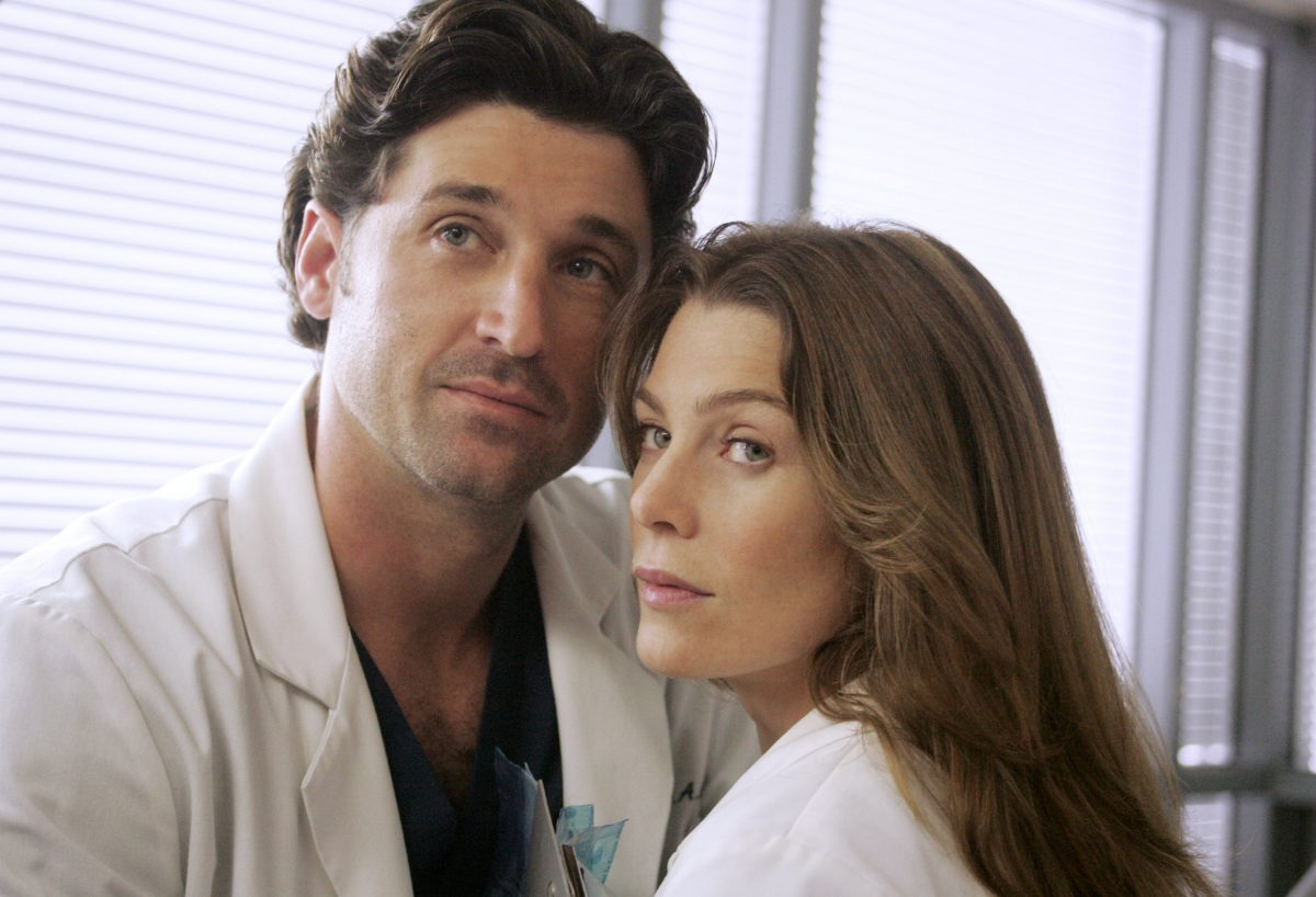 Patrick Dempsey and Ellen Pompeo in 'Grey's Anatomy'