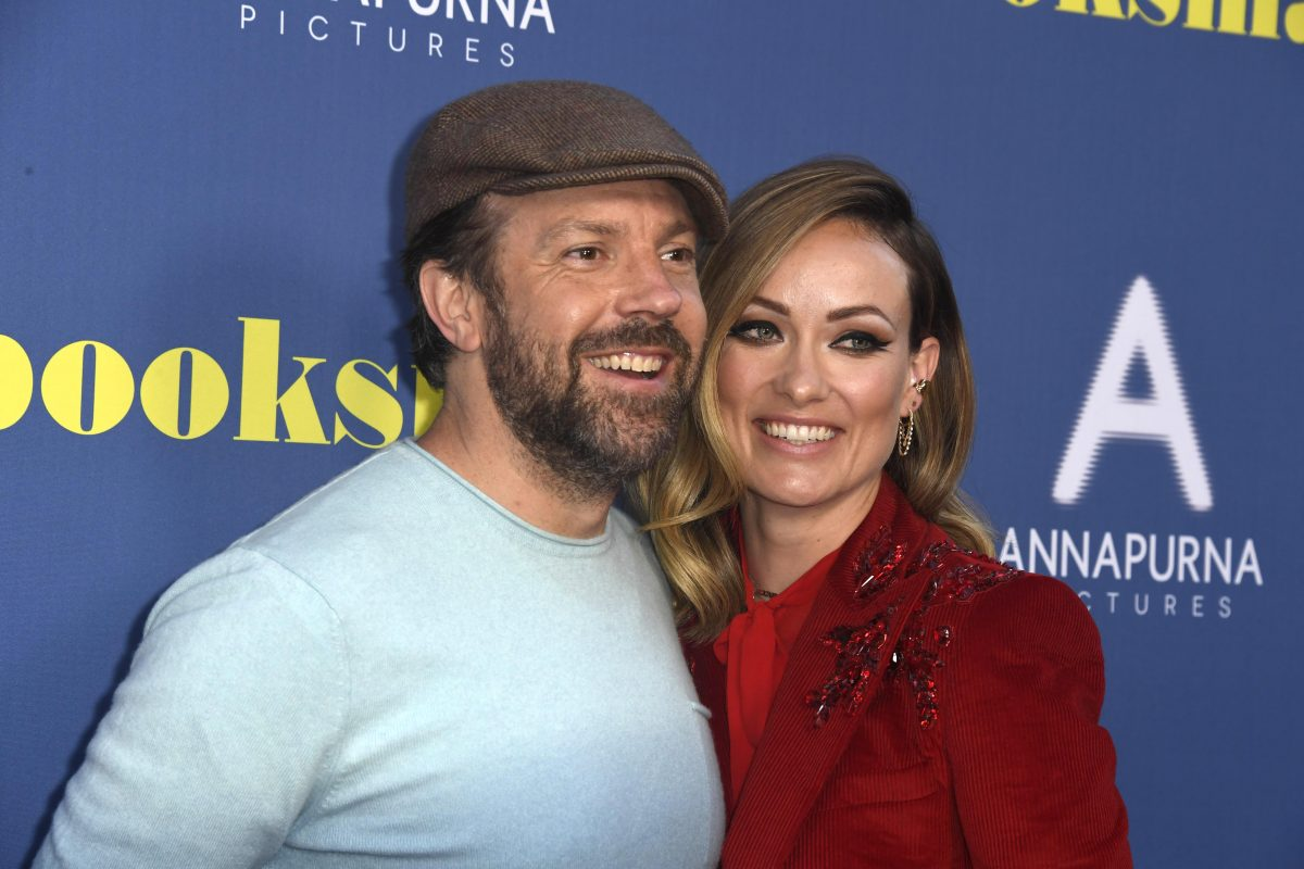 (L-R) Jason Sudeikis and Olivia Wilde attend LA Special Screening Of Annapurna Pictures' 'Booksmart' on May 13, 2019