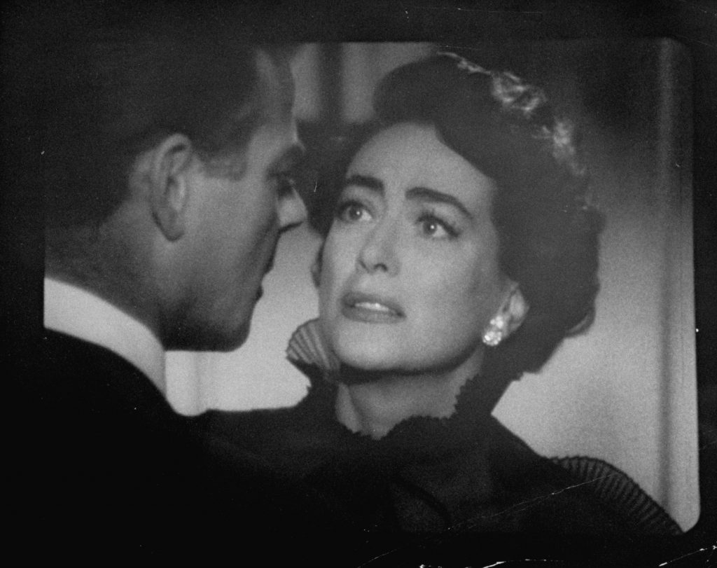 Joan Crawford with a man
