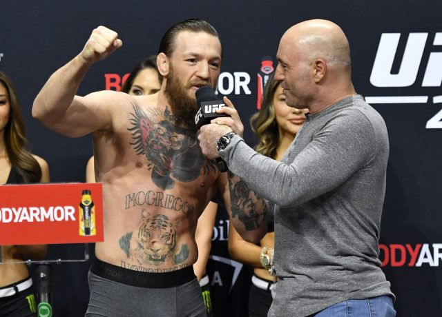Joe Rogan Says Manny Pacquiao Would Beat Conor McGregor in a Fight — 'He's Not as Efficient, and He's Gonna Get Tired'