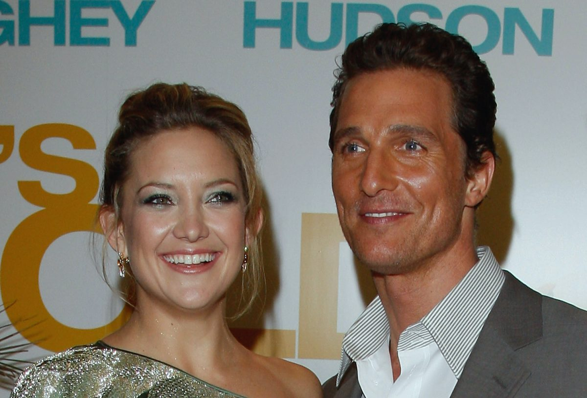 Kate Hudson and Matthew McConaughey attend the Fool's Gold premiere