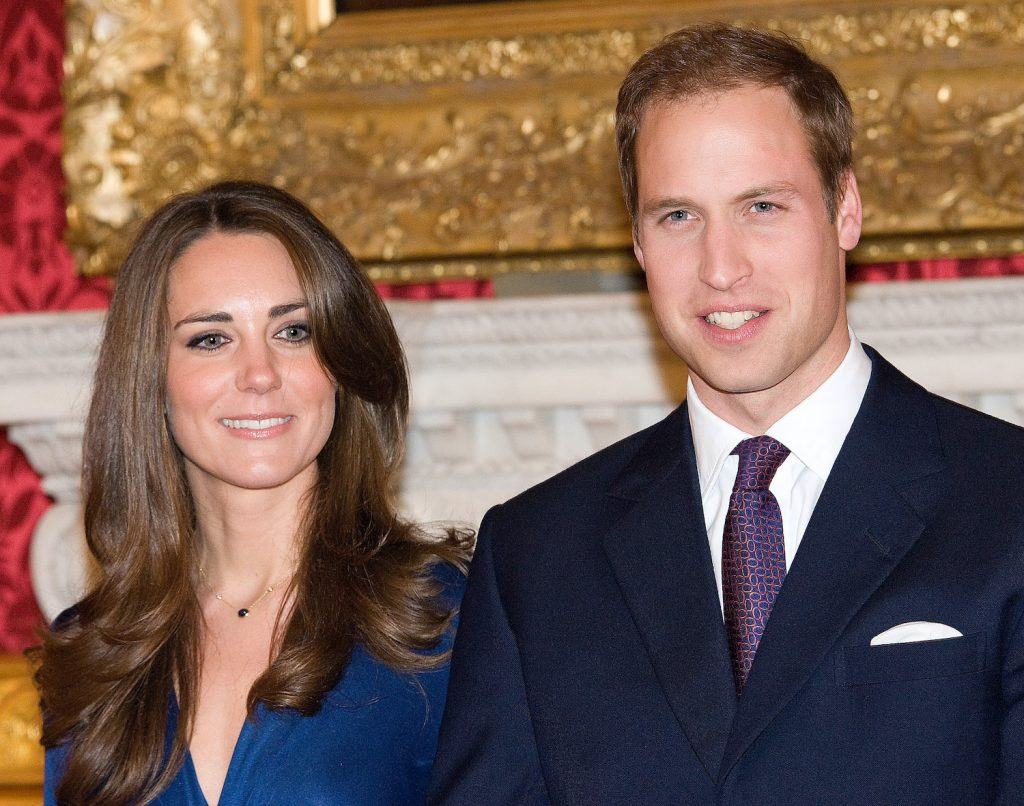 Prince William and Kate Middleton officially announce their engagement at St James's Palace on November 16, 2010