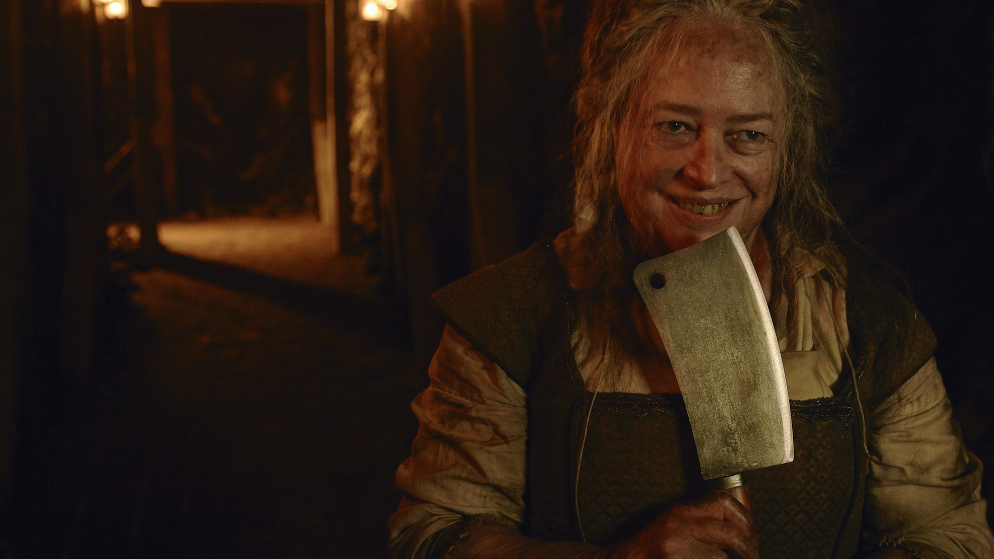 Kathy Bates in 'AMERICAN HORROR STORY: ROANOKE.'